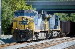 E721-02 with CSXT 158(AC44CW) & CSXT 440(AC44CW)